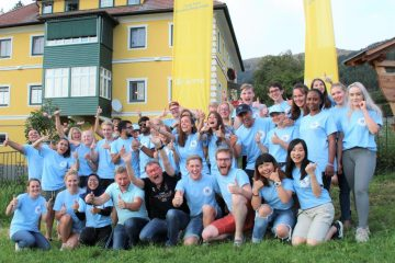 "Lions Youth Exchange Camp MD 114-W ""Feel the Power of Carinthia – in the heart of Europe"""