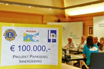 Papageno startet dank Lions auch Innergebirg