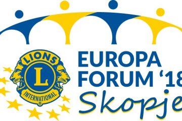 """Europa Forum 2018: """"Lionismus pur"""" in Skopje"""