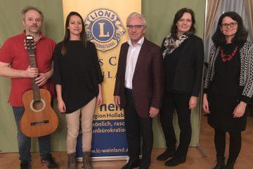 Lions Club Weinland, Manfred Breindl