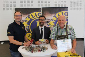 SIGHT FIRST – erfolgreiche Brillensammelaktion des Lionsclubs Neuhofen – Kremstal