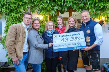 """13.350,00 EUR bei Spargel & Wein für """"KLEIN.BLIND.KIND"""""""