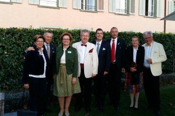 Reger Gedankenaustausch bei der Distrikt-Jumelage in der Schweiz