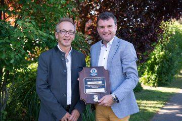 Höchste LIONS-Auszeichnung für Robert Fritz vom LC Veste Riegersburg