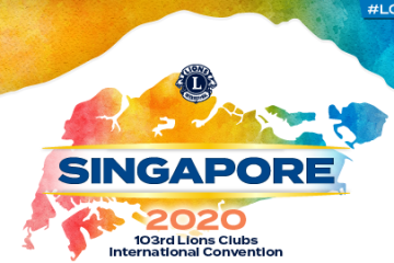 103. Lions Clubs Internationale Convention in Singapore