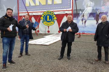 Steirische Lions Clubs helfen Circus Knie bei Corona-Krise