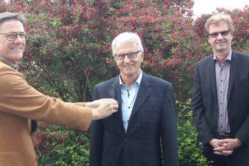 Rudolf Klaritsch erhielt die Ehrennadel Progressive Melvin Jones Fellowship